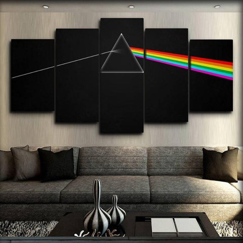 Pink Floyd canvas wall art
