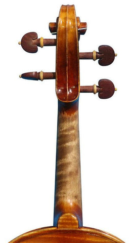Wholesale Model SRV1014 Concert Grade Solid Spruce & Ebony Made Violin Different Sizes with Accessories