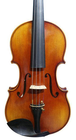 Model SRV1013 Concert Grade Solid Spruce & Ebony Made Violin Different Sizes with Accessories