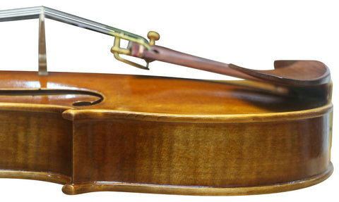 Wholesale Model SRV1020 Concert Grade Solid Spruce & Ebony Made Violin Different Sizes with Accessories