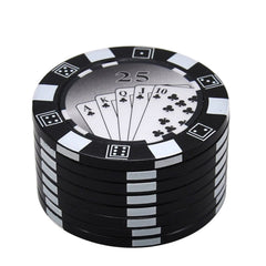 Gambling Chip Herb Grinder 3 Layer   Accessory For Sale  Free Shipping