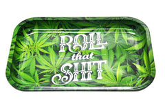 """Roll That Shit"" Rolling Tray 