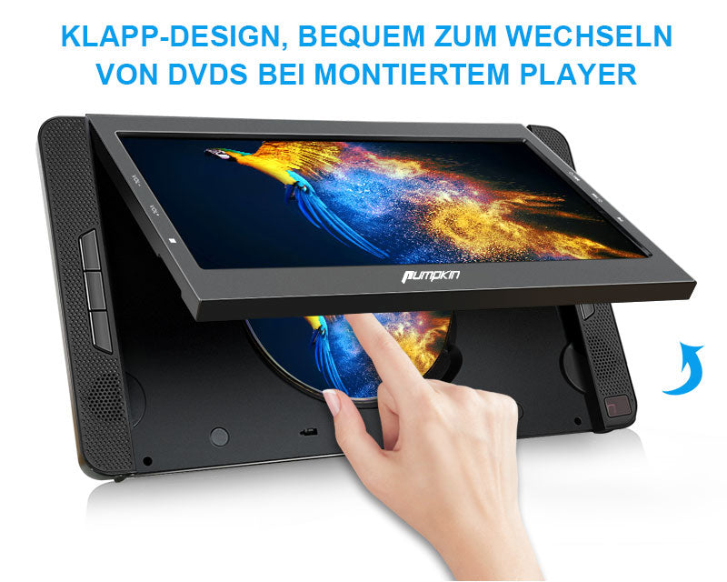 dvd player 2 bildschirme