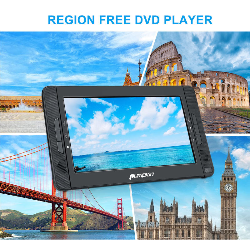 tragbarer dvd player