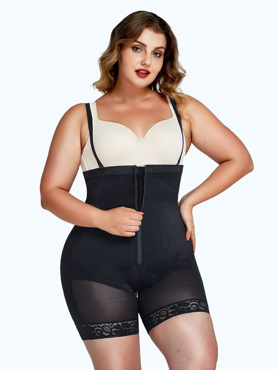 Loverbeauty Detachable Straps Full Body Shaper