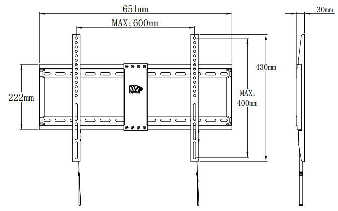 Mounting Dream MD2163-K product dimensions