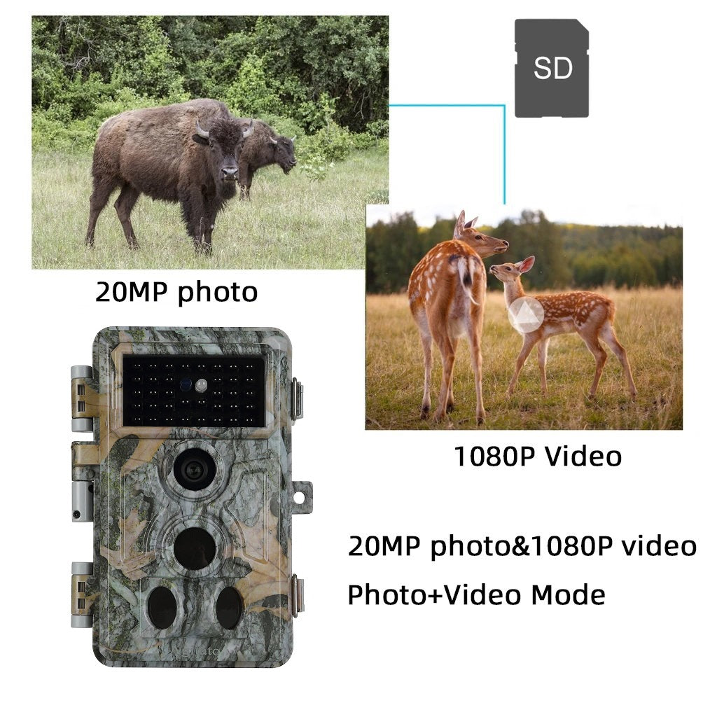 2-Pack Trail Hunting & Game Deer Cameras 20MP 1920X1080P