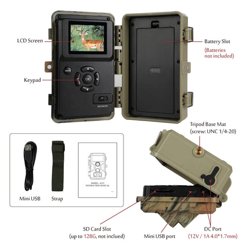 Protect property and garden with a game camera or trail camera?