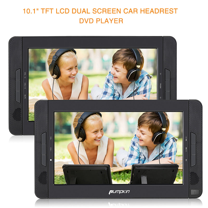 dual dvd player for car
