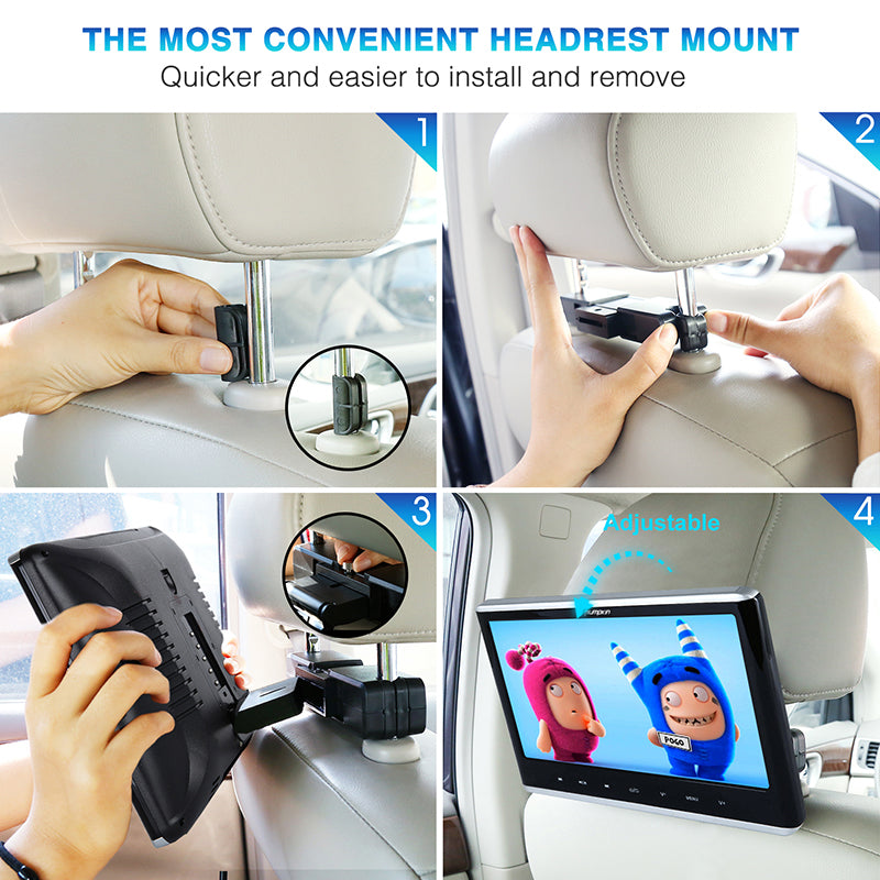 Car headrest Monitor
