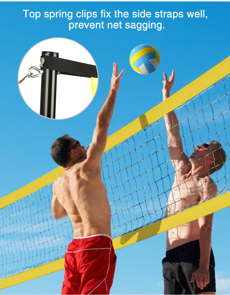 park and sun volleyball net