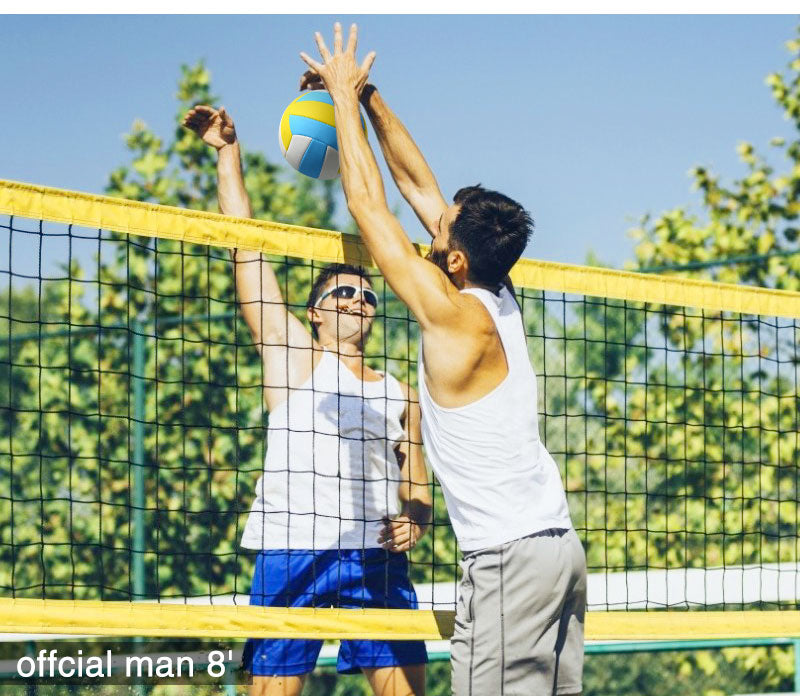 outdoor volleyball court