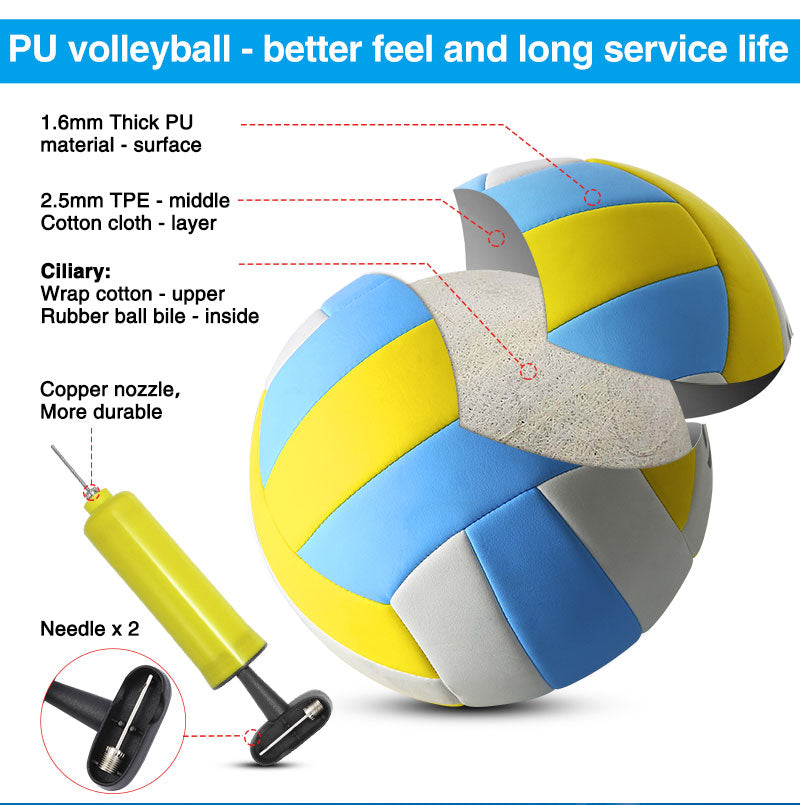 portable volleyball sets