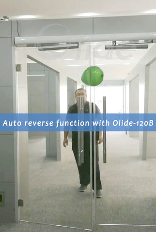 Auto reverse function with olide-120B automatic swing door opener