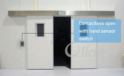 contactless automatic sliding door SD280