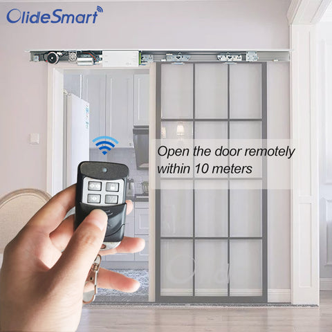 contactless automatic sliding door remotely control