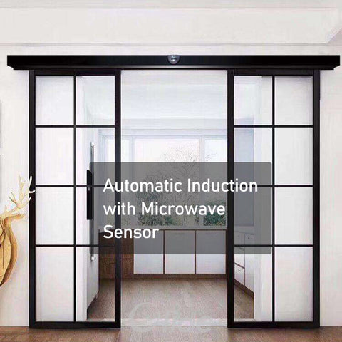 contactless automatic sliding door SD280 with microwave sensor