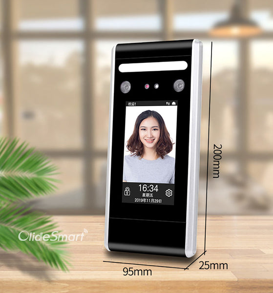 Olidesmart Dynamic Face Recognition Access Control System size