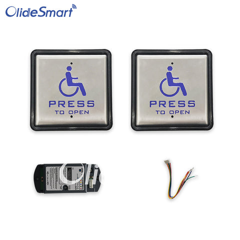 olidesmart wireless&wired handicapped push button
