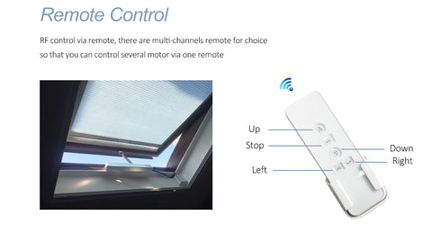 remote control window opener