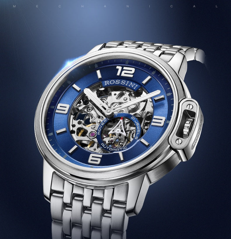 affordable skeleton automatic watch