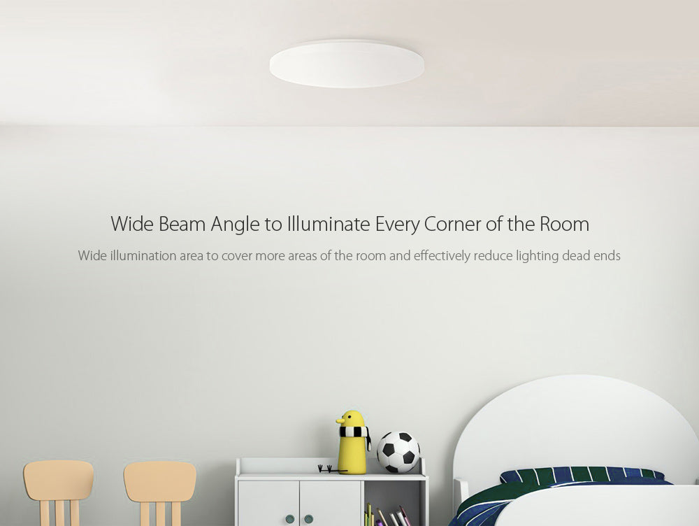xiaomi  Yeelight Smart Remote Control Ceiling APP WiFi Bluetooth LED Room  Light Dimmable Tunable 450 White
