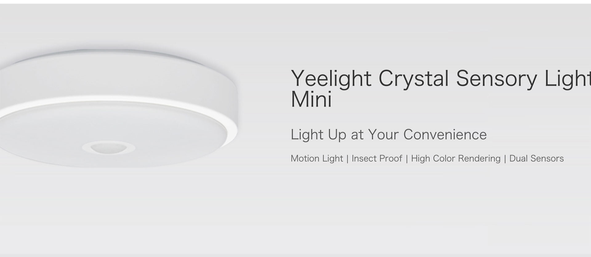 Yeelight Sensor Led Ceiling Mini Human Body / Motion Sensor Light For Smart Home
