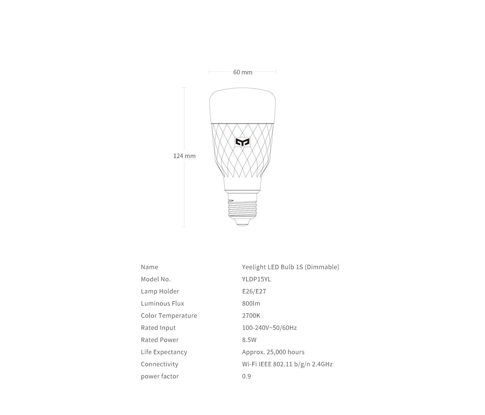 dimmable smart led bulb