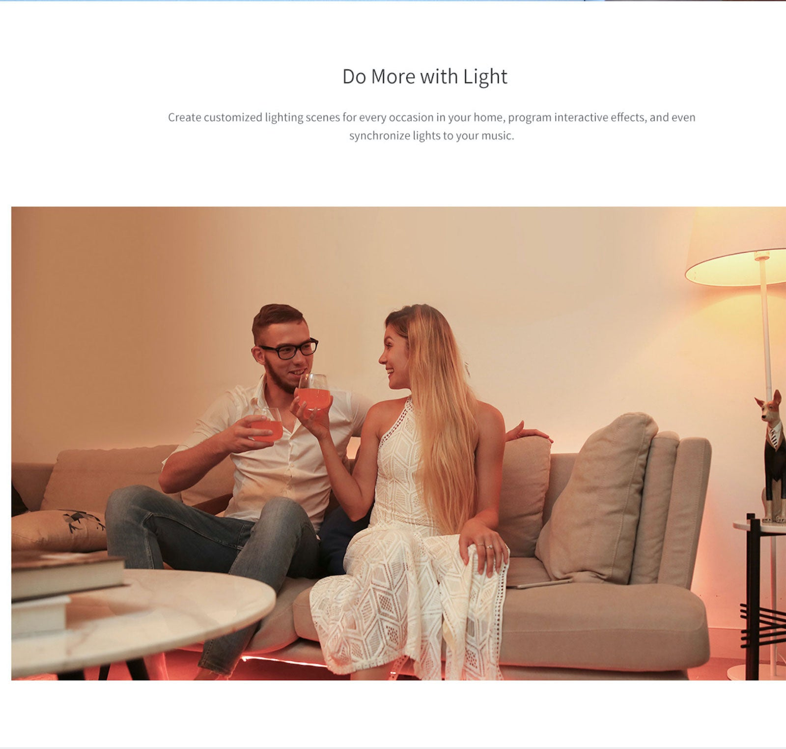 Yeelight Smart Remote Control Extendable Light Strip RGB Color Change Flexible Dimmable Bedroom Cabinet Tape Lightstrip Homekit Alexa Assistant