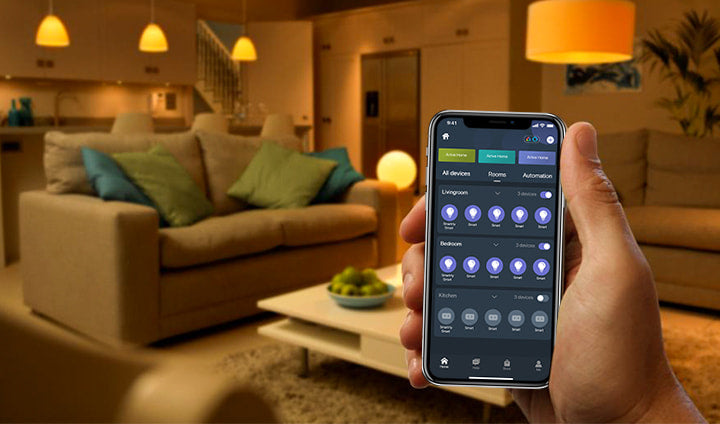 LUMIMAN_tunable_smart_light_bulb_group_control