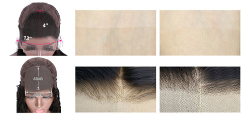 (HD Lace / Regular Lace) 4*4 13*4 Wig Burmese curly Human Hair 【PWH6699】