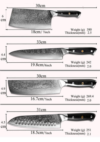 Types of Cooking Knives: The 8 Main Types of Japanese Kitchen Knives | Letcase Knives