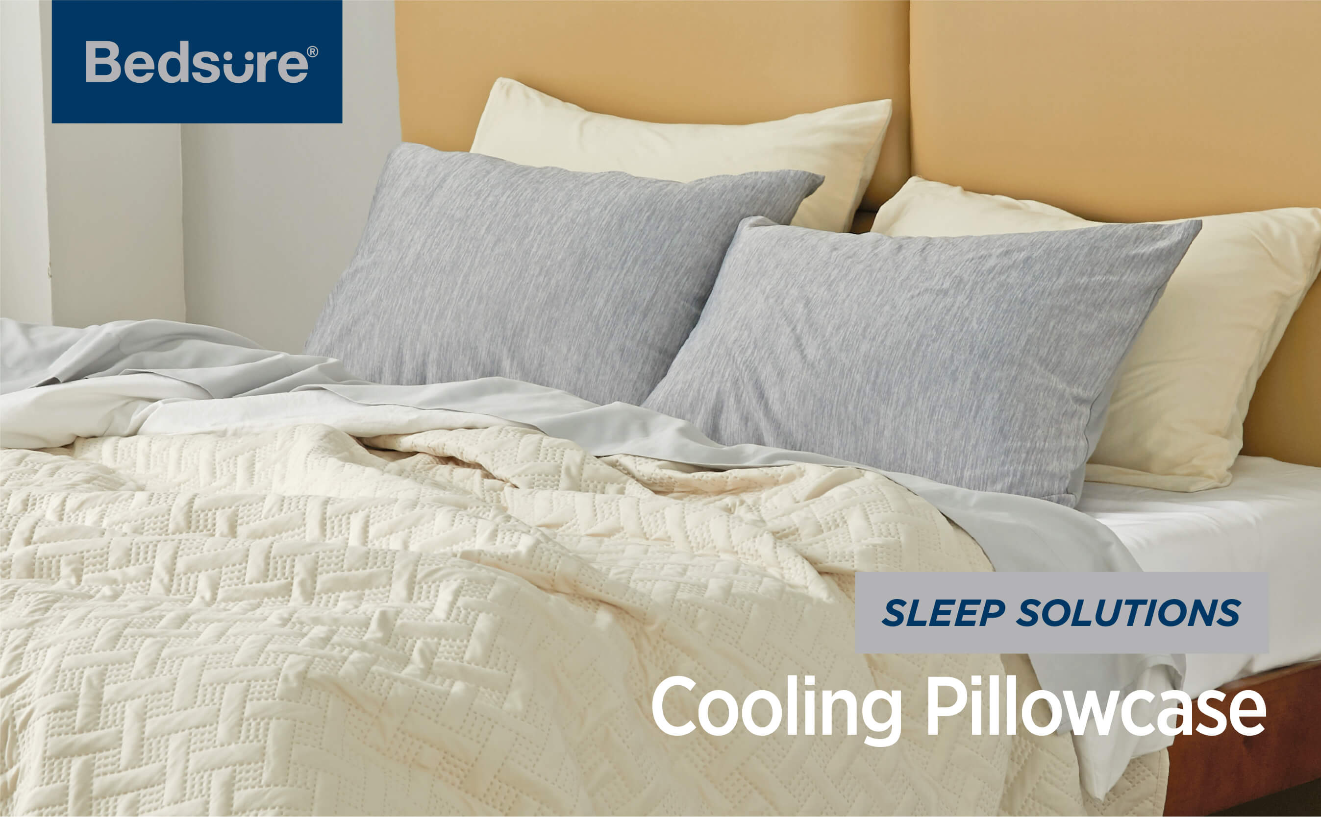 Bedsure | Cooling Pillow Cases for Night Sweats and Hot Sleepers