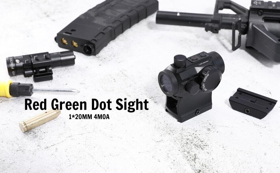 Pinty 4 MOA red dot sight