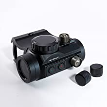 Pinty red dot sight easy zeroing