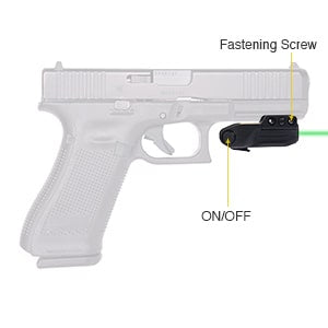 Tactical Bright Green Laser for Pistol