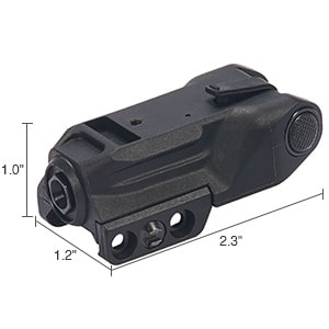 Wide Application Laser Sight Dimensions
