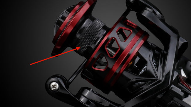 spinning reel with braid ready spool