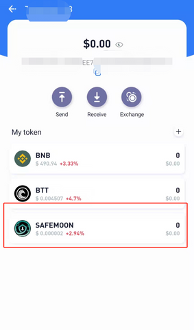 How to add BSC Token