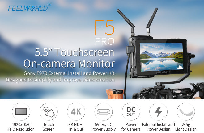 Monitor kamera FEELWORLD F5 Pro
