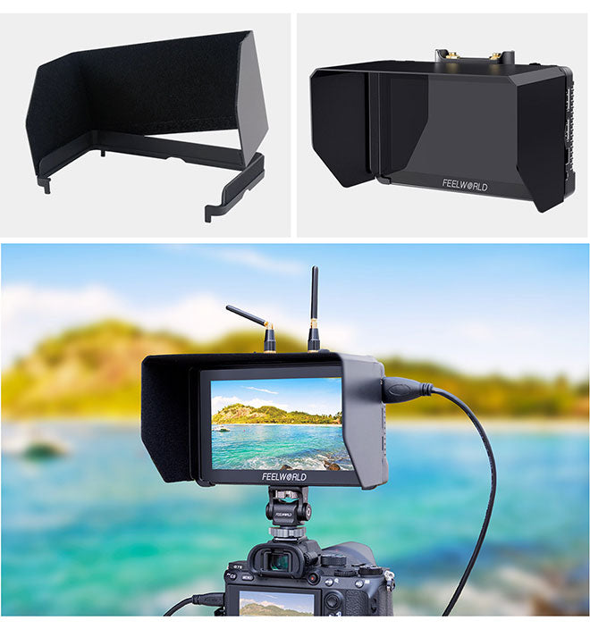 dslr kamera felt monitor video