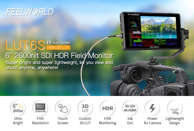 feelworld ultra bright sdi