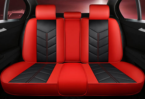 Black&red seat covers - NINTE