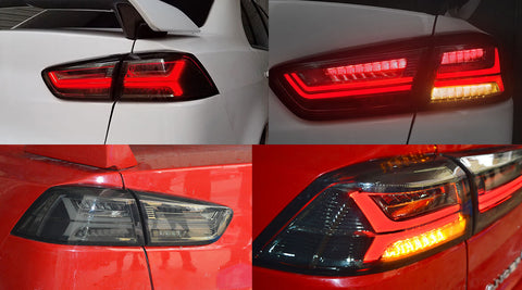NINTE Taillights for Mitsubishi Lancer EVO X 2008-2017