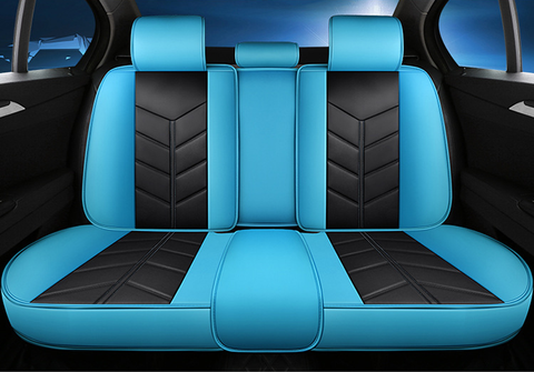 Black&blue seat covers - NINTE