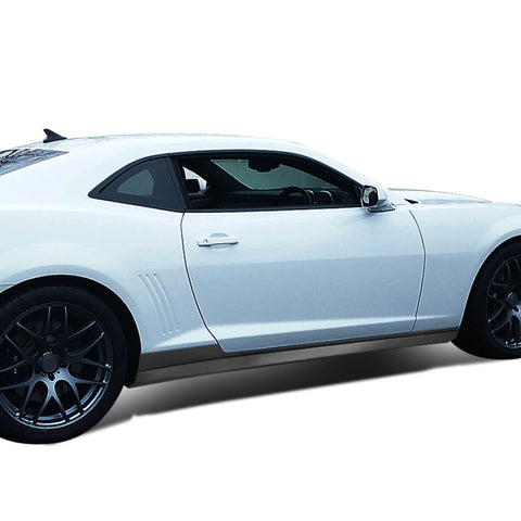 NINTE Side Skirts for Chevy Chevrolet Camaro 2010-2015 ZL1 Style