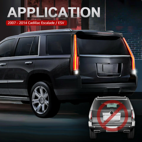 NINTE taillights for Cadillac