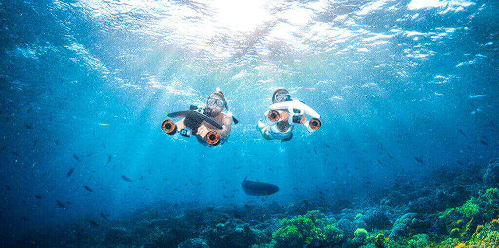 Sublue WhiteShark MixPro Underwater Scooter for Swimming