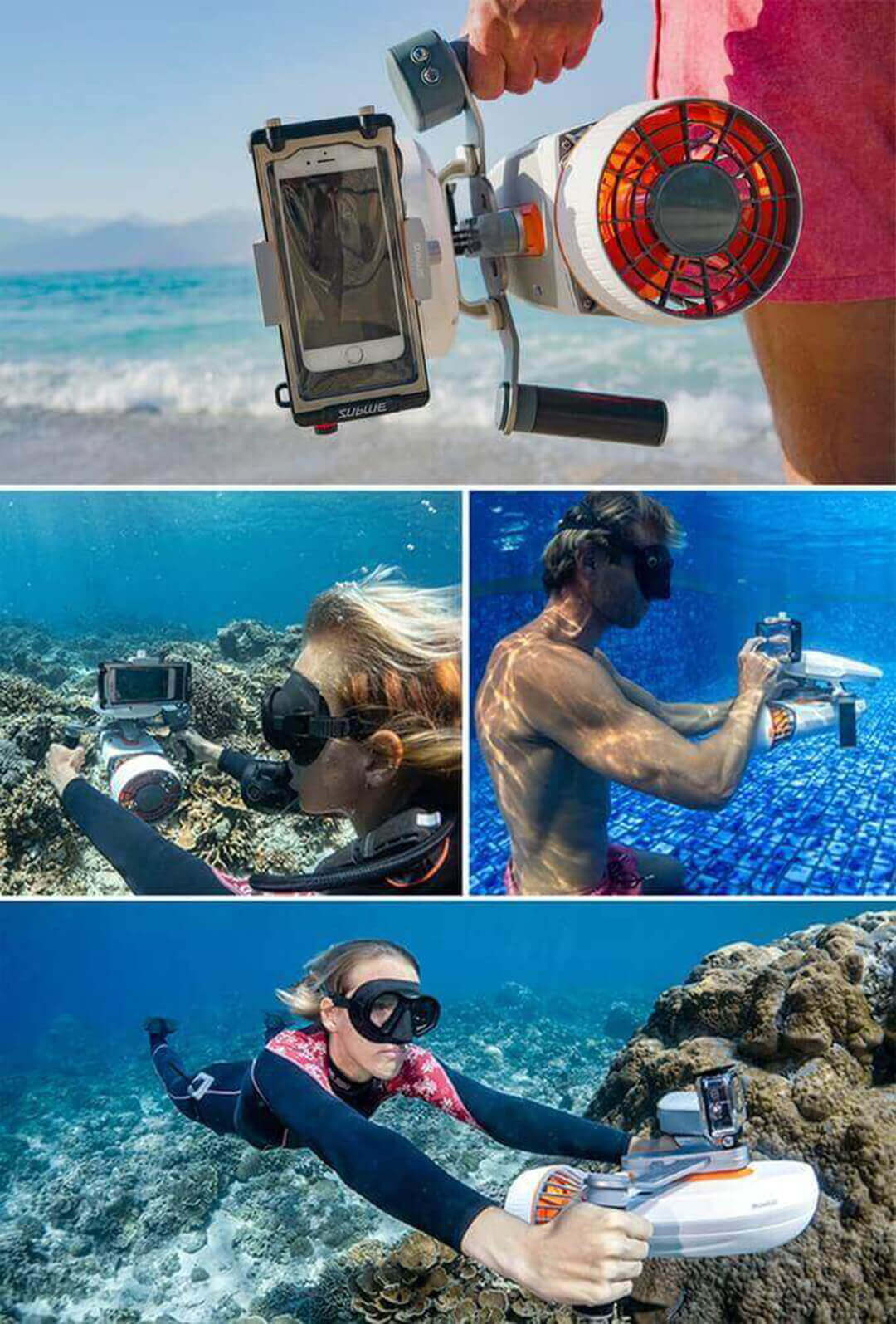 Action Camera or Phone Amount