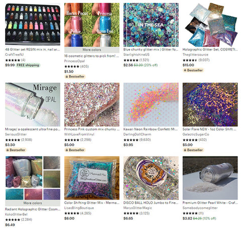 7 Best Online Glitter Stores of 2020 NEW EDITION